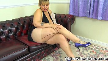 Pantyhose rubbing and feeling - Buxom and british: owf presents bbw milf alexa