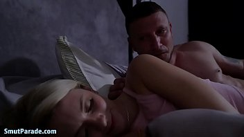 Riley Star Can't Sleep, Jumps On Step Daddy's Dick While Mom Sleeps Right Next To Them