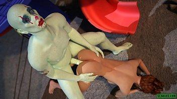 Free celebrity sex movies Joker the clown fucker. 3d sex horror