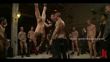 Gay men in tight leather outfits bdsm