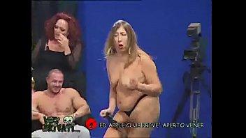 Veronica Rossi  and Michelle Lio Strip during Vizi Privati 02