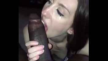 Beatiful eyes sucking bbc ,so hot