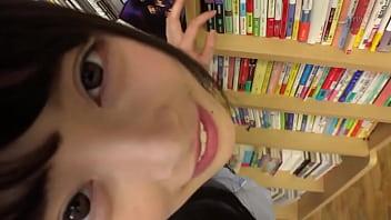Japanese School girl Ass rubbing
