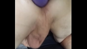 SEXY TWINK with BIG COCK and TIGHT hole taking massive dildo and getting fucked and bred by Daddy