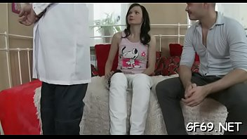 Ravished boys porn - Cute bookworm is getting her snatch ravished by 2 studs