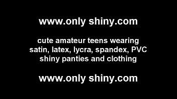 I love the shiny PVC panties you got me