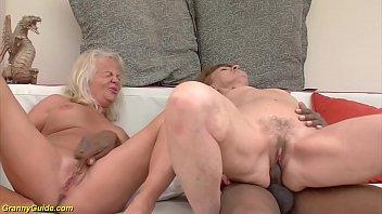 Oma Orgy anal