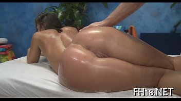 Lovely honey likes massage