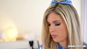 Stewardess movie porn Anal inspectors double penetrate hot stewardess eva parcker to the extreme