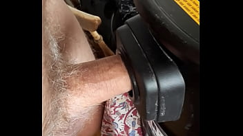 Vacuum cleaner blow job 2