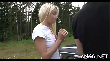 Ambitious blonde Olivia C's cherry licked and banged