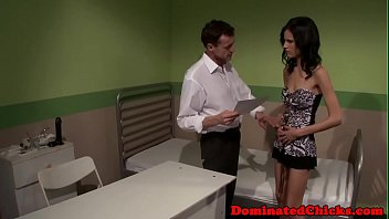 Tormented euro submissive gets creampied