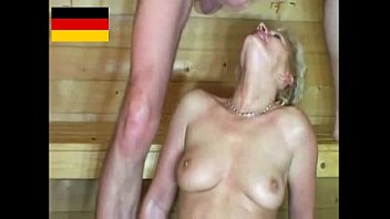Mature sexy german women - Sauna sex with horny mature women german