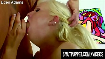 Smut Puppet - Blonde Cuties Gorging Themselves on Hard Cock Compilation 4