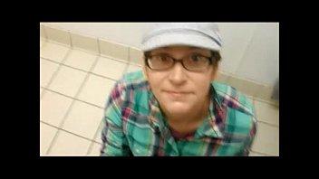 Amateur wife compilation facials public bathroom   threesome!