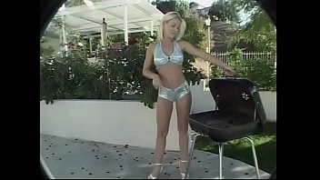 Couple of sophisticated in the art of ass help Australian beauty Jodie Moore to prepare perfect barbecued spareribs