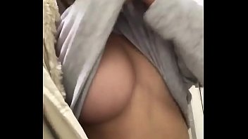 Drunk girl in public bathroom get nude