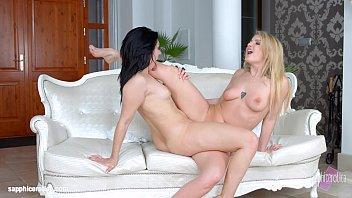Gift lesbian lover valentine International affair by sapphic erotica - sensual lesbian scene with jemma valen