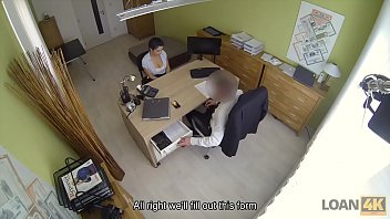 LOAN4K. Agent offers Alex Black sex to get her loan and she agrees Image