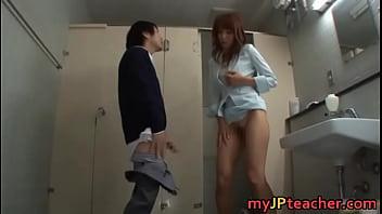 Hot teacher called Shiho pissing