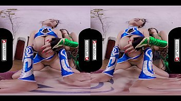 VR Cosplay X Threesome With Jade And Kitana VR Porn