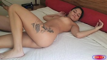 pussy eating cute brunette