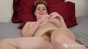 Amateur hairy pussy video - Busty megan masturbating her hairy beaver