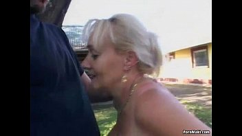 Older women with hot assholes Busty granny gets pounded in the back yard