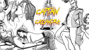 Ebony Ballbusting Castratrix Dominatrix Lesbian Military Officer