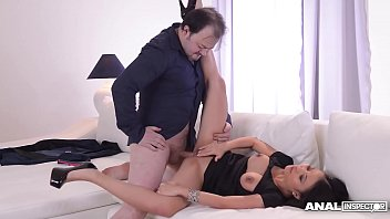 Anal inspectors wanna see assistant PussyKat suck and fuck her boss's cock