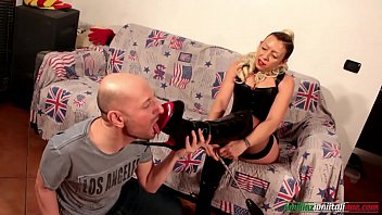 A New Slave Life - Milf vs Young Foot Licking