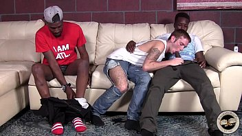 Old on youg gay porn clips Kaiden shaw gets a double dose of black dick