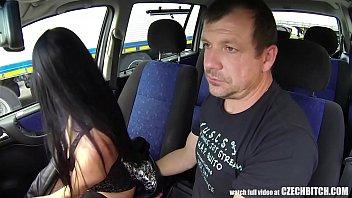 Czech escort hire Beautiful small slut fucks with legs behind her head