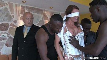 Private Black - Swiss Celebrity Caroline Tosca Milks 3 BBCs!
