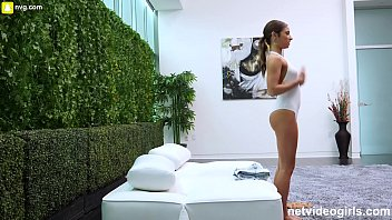 Hot 18 Year Old Tries Out For Calendar | Video Make Love