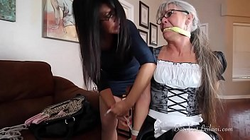 Milf maid caught Maid caught stealing