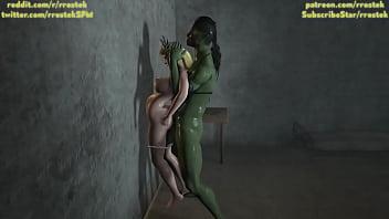 Sophitia sexy Sophitia alexandra fucked hard by futanari orc 3d monster porn
