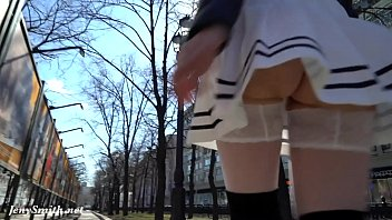 Public skirts sexy Look under my skirt. jeny smith spinning in a miniskirt in public