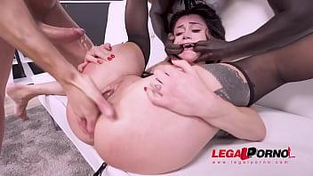 Hot italian Martina Smeraldi first time on LP! Super nasty, super horny AF004