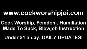 You need to learn how to handle big cocks