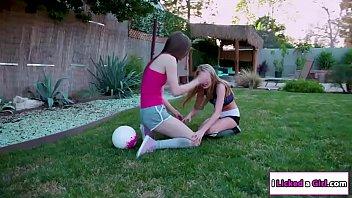 Scarlet facesitting lesbian team mate