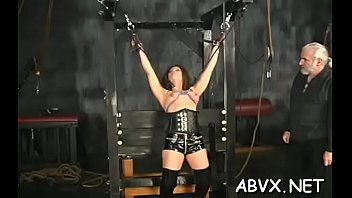 Xxx free hardcore porn video clips - Bare chicks roughly playing in bondage xxx amateur clip