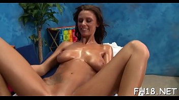 Spicy brunette Whitney Westgate riding rod in front of camera