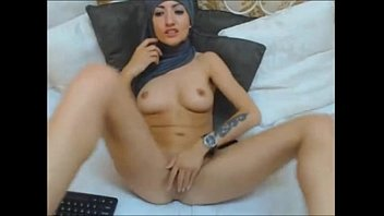 Sexy Arab Hijab Girl Plays With Dildo In Ass And Pussy - Visit Elitearabcams.com