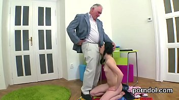Cuddly schoolgirl was seduced and reamed by senior teacher