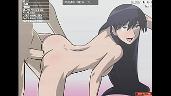 Hentai babe taking it in the ass