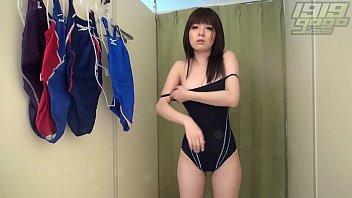 Stripped bikini Schoolgirl strips off bikini