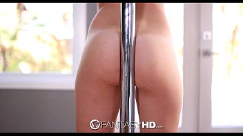FantasyHD - Teen Kimmy Granger does a private pole dance for her man