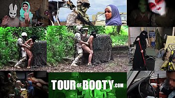 Different groups of asian americans - Tour of booty - local arab working girl entertains american soldiers in the middle east