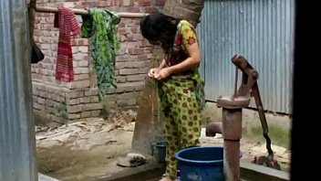 desi girl bathing outdoor for full video http://zipvale.com/FfNN